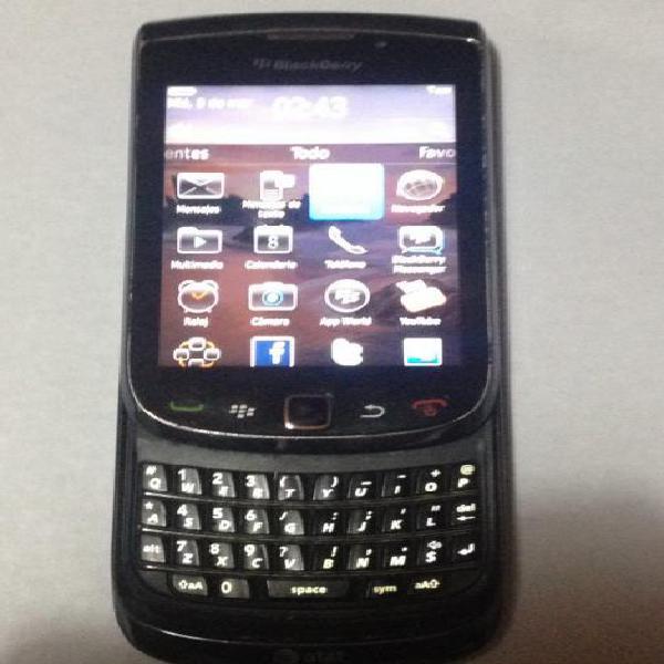 Blackberry torch 9800 liberadomuy buen estado no anda