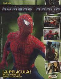 Album figuritas spiderman hombre araña 2002