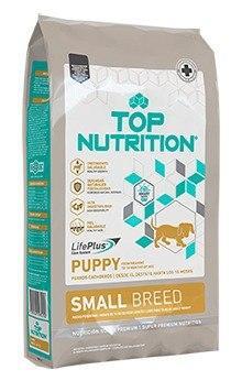 Alimento balanceado super premuim top nutrition para razas