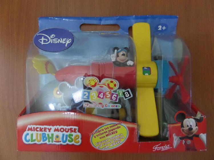 Avión de mickey mouse la casa de mickey mouse