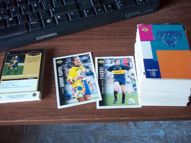 Lote de figuritas cards de futbol