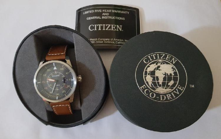 Reloj citizen ecodrive avion