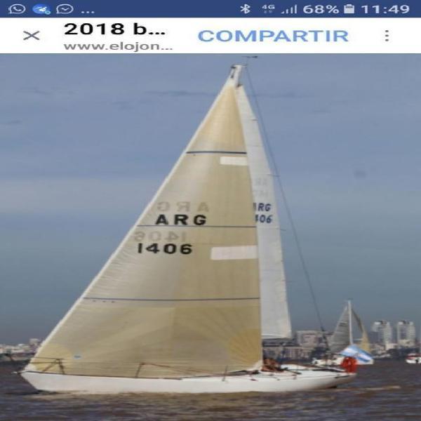 Velero cp 30 regata