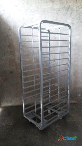 Carro zorra panadería 80x60x15