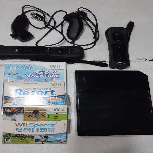 Nintendo wii, accesorios, juegos