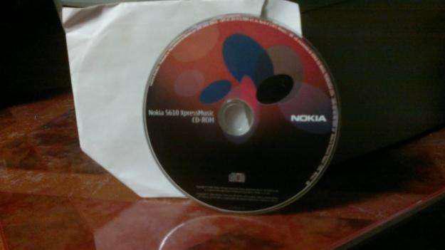 Cd original software nokia 5610 xpressmusic