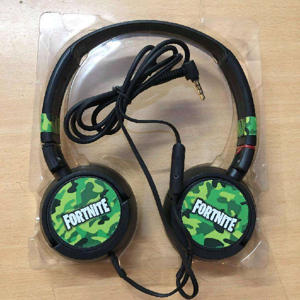 Auriculares headphones fornite con auricular para pc ps4