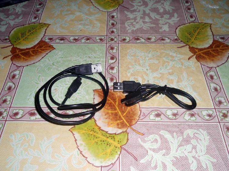 Cables usb de datos a mini usb para mp3, mp4, camaras