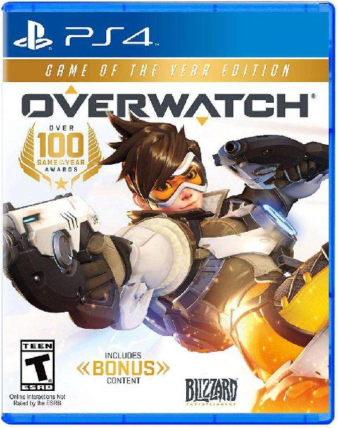 Overwatch goty game of the year edition ps4 fisico nuevo