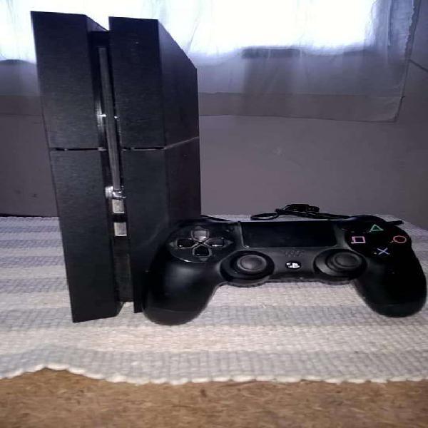 Ps4 500gb 1 joystick juegos caja