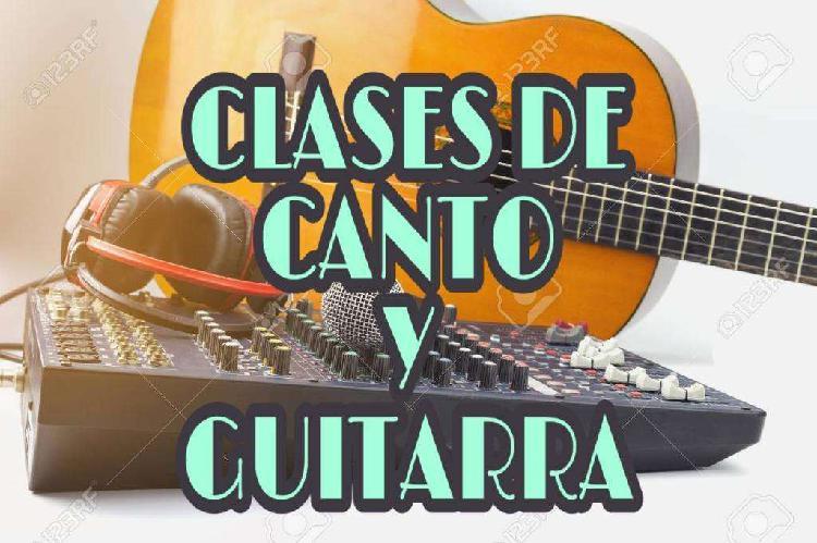Canto y guitarra