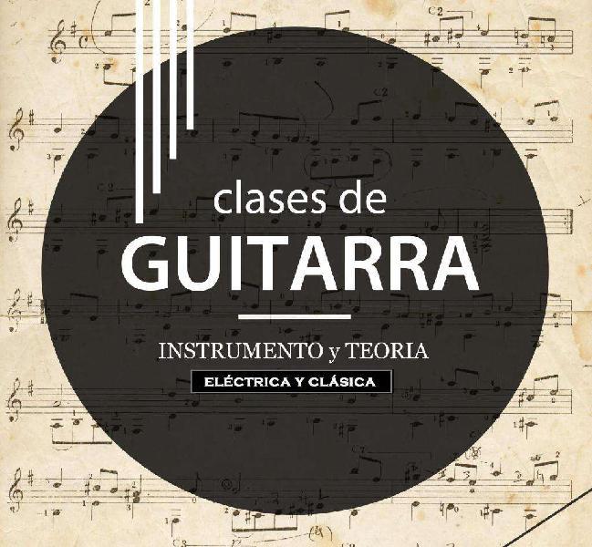 Clases de guitarra electrica y clásica