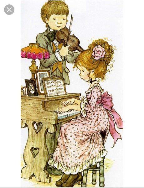 Profesora de guitarra piano y organo
