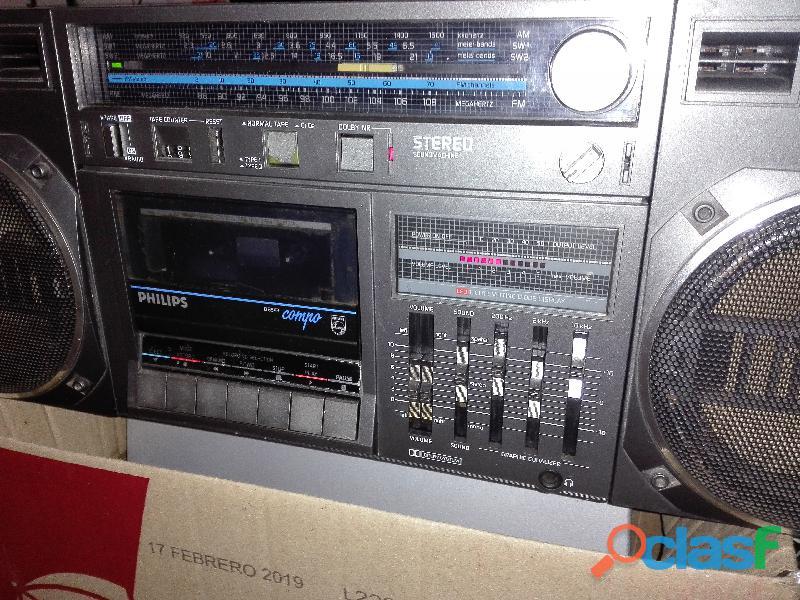 Radiograbador Philips compo vintage