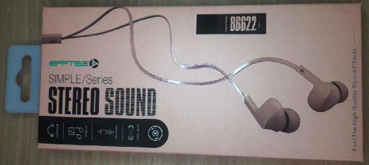 Auriculares box manos libres con microfono nuevos colores