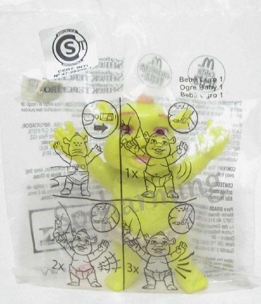 Bebe ogro n1 con sonido shrek 2007 mc donald's no envio