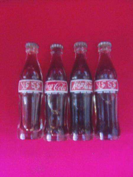 Botellitas de coca cola miniaturas