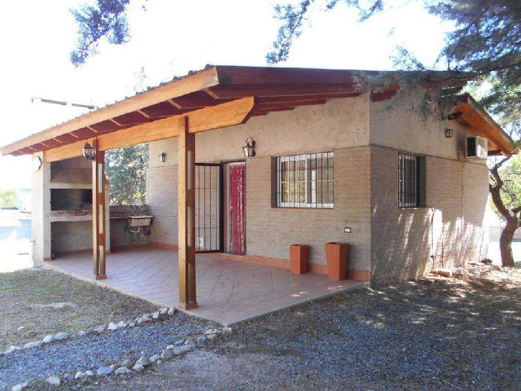 Casa cosquin tipo chalet terreno 12 x 46 a 300 m rio cosquin