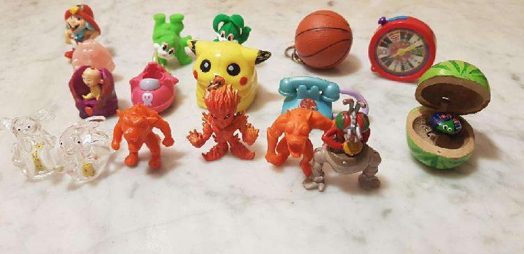 Muñecos miniaturas, digimon, jack jack de los increíbles,