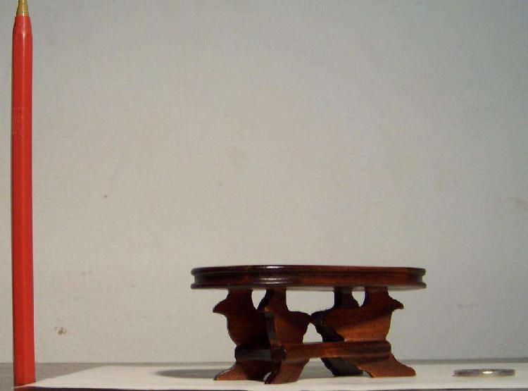 Mesa Ratona Miniatura, Escala 1:12, Casa De Muñecas