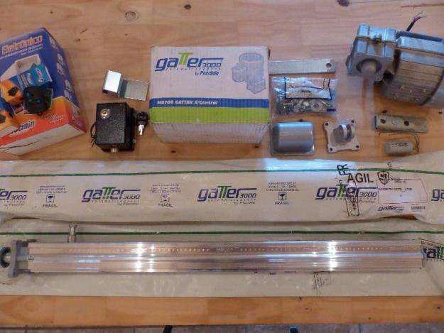 Kit motor pivotante peccinin y cerradura electrica nuevo
