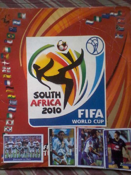 Album figuritas mundial sudafrica 2010