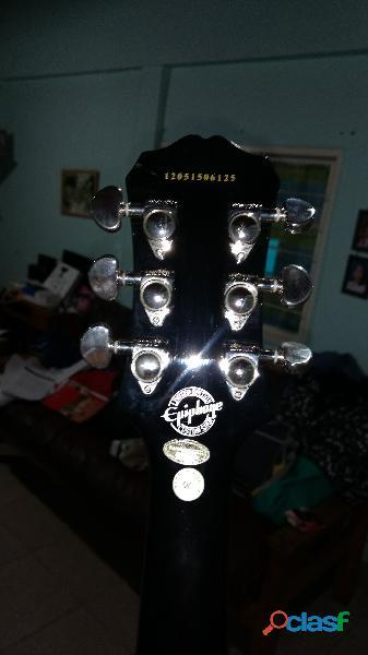 Guitarra ephiphone sg 400 custom shop+ estuche semirigido