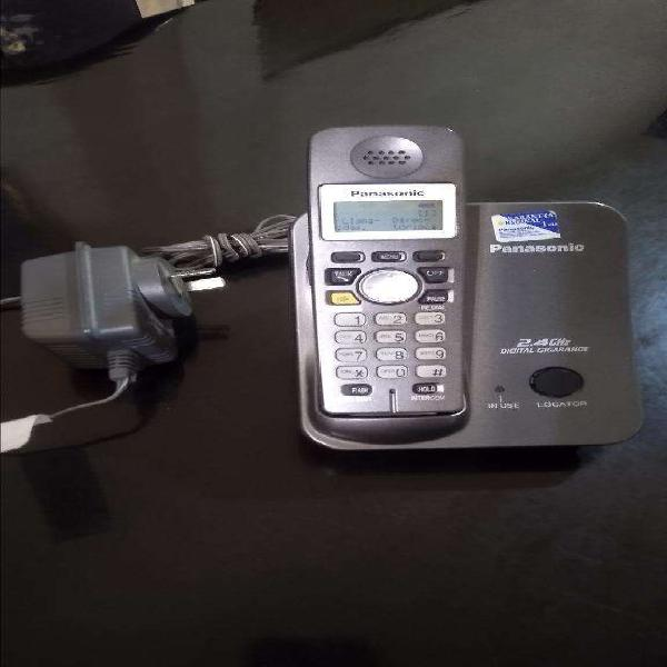 Telefono panasonic inalambrico 2.4 ghz 650