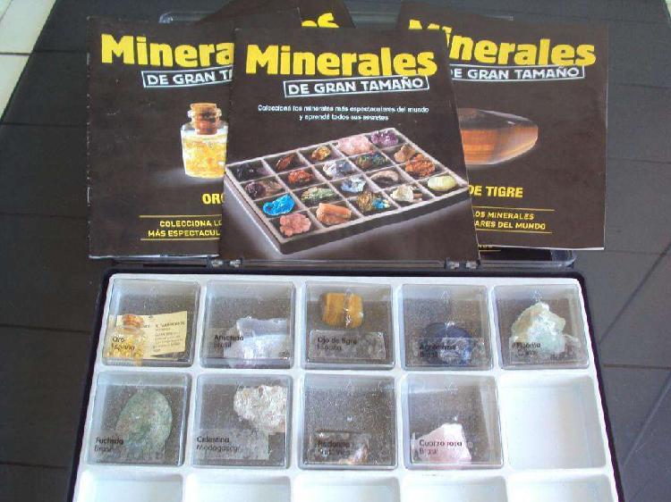 colección minerales de gran tamaño la nacion