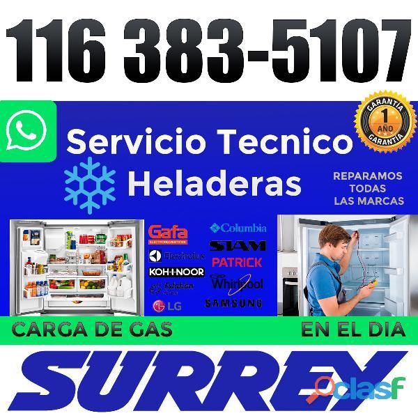 Service heladeras comercial carga gas oferta 24hs 1563835107