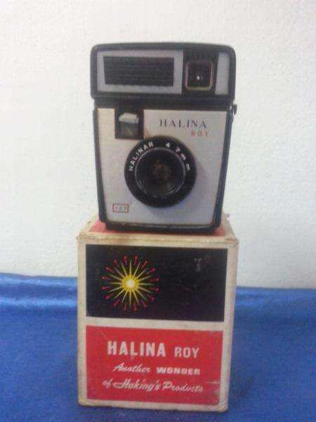 Antigua cámara de foto halina roy 127