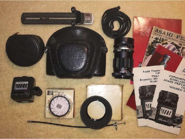 Antigua cámara fotográfica asahi pentax – equipo