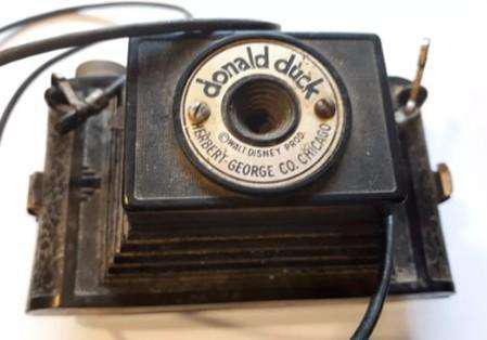 Camara fotografica antigua donald duck (walt disney)