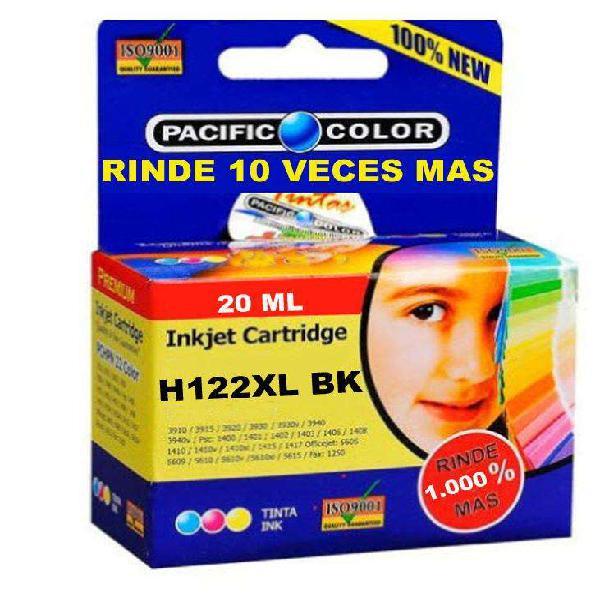 Cartucho impresora hp122 xl negro rinde 10 veces alternativo