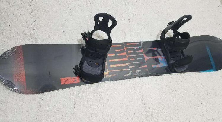 Equipo snowboard completo nitro prime 158 y fijaciones head