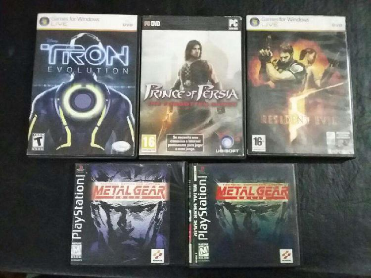 Juegos playstation 1 y pc
