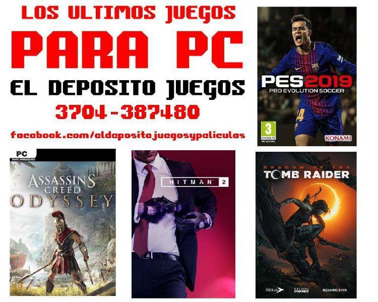 Juegos para pc y play 2