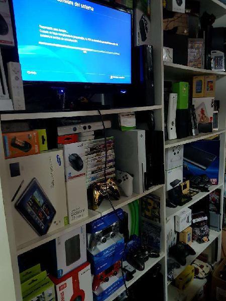 Servicio técnico video juegos ps4 xbox máquinas arcade
