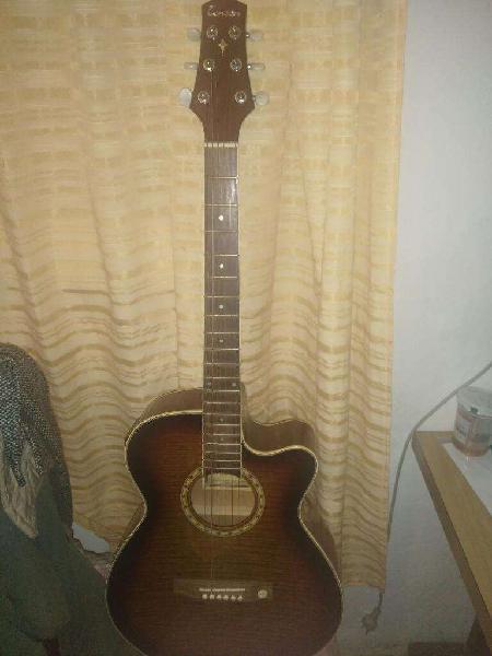 Guitarra electroacústica marca tenson n.