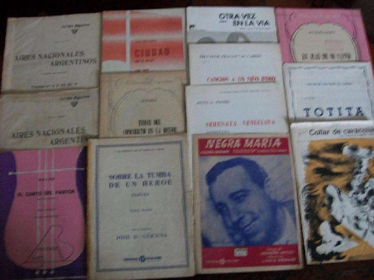 Partituras y libros de estudio de música para piano