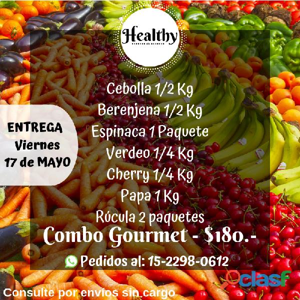 Combos de frutas y verdura