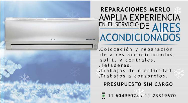 Servicio técnico especializado en heladeras y aire