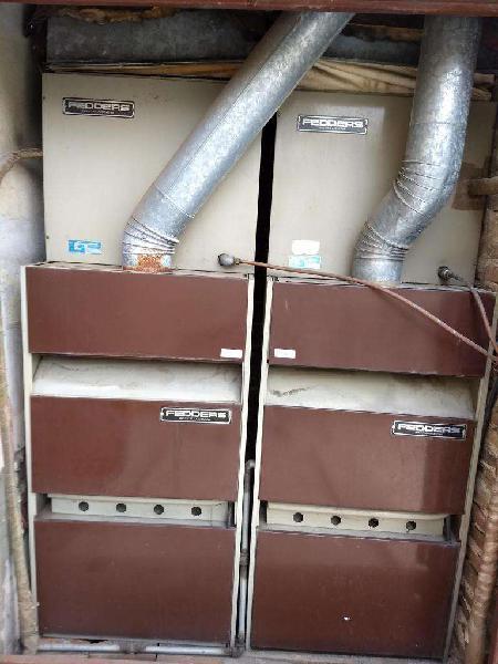 Equipo fedders frio/calor 5ton, usado, optimas condiciones,