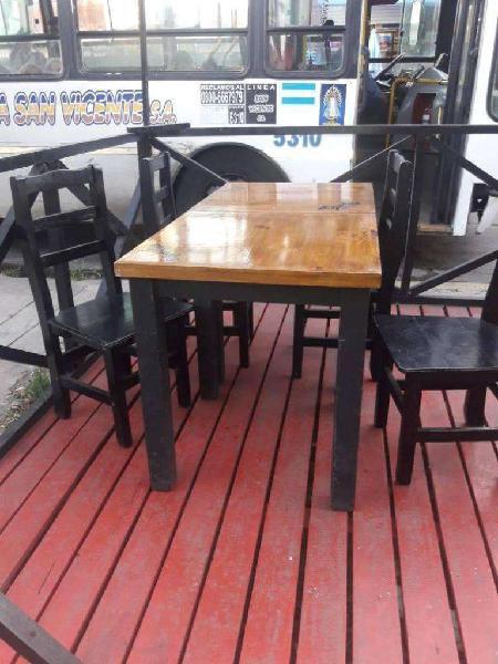 Mesas y sillas para restaurante, bar o cervecería