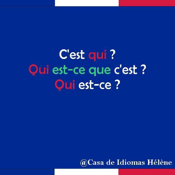 Clases de conversación en francés personalizadas profe