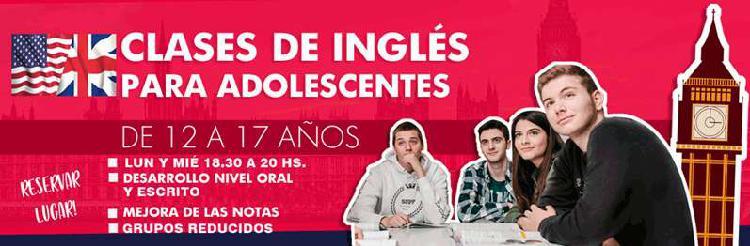 Clases de inglés para adolescentes