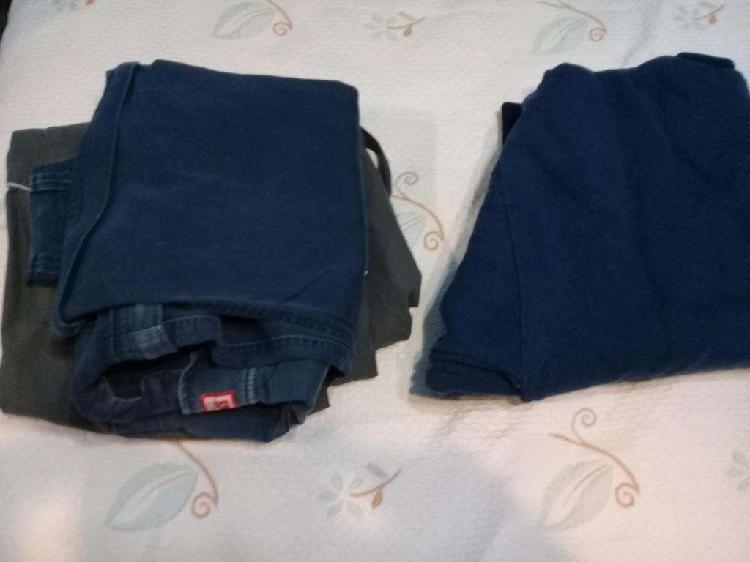 Dos pantalones y un buzo (usados)