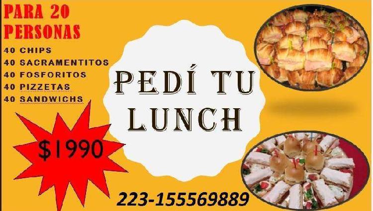 Lunch para 20 personas!!! mar de plata