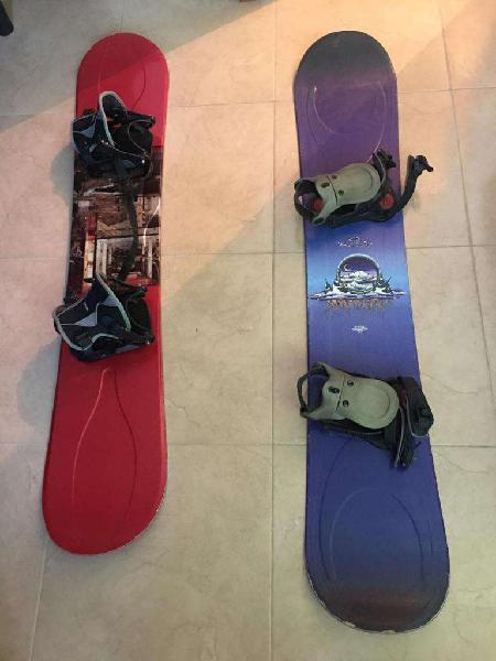 Tablas de snowboard ride y k2, remato!