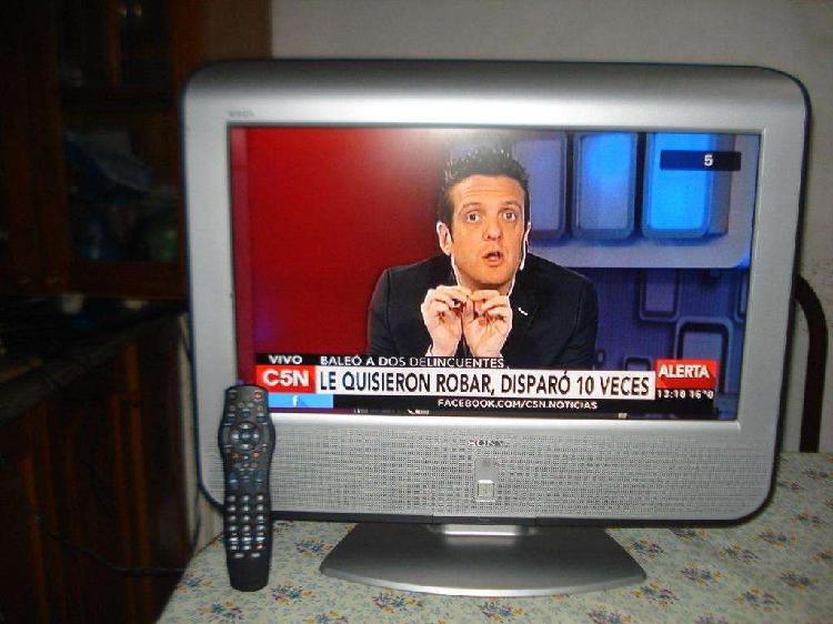 Televisor tv lcd sony klv23m1 hdmi c/ctrl rem excel estado